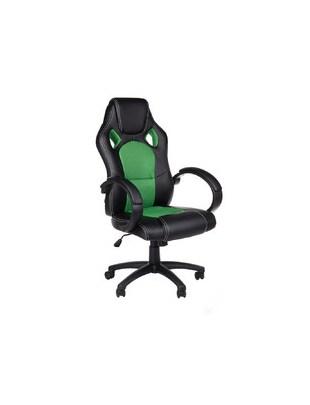 Fotel gamingowy Racer CorpoComfort BX-2052 Zielony