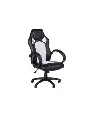 Fotel gamingowy Racer CorpoComfort BX-2052 Biały