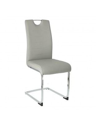 Krzesło Laura jasny szary