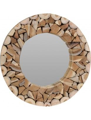 Lustro Intesi Wood Mosaic