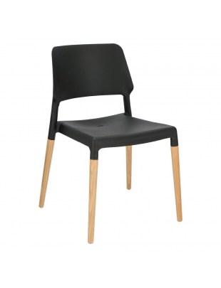 Krzesło Cole czarne