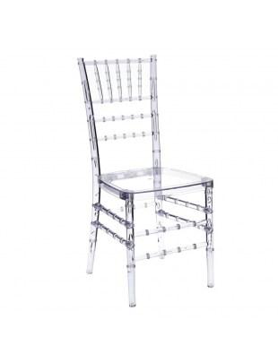 Krzesło transparentne Chiavari