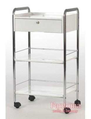LABOR - Pomocnik Kosmetyczny 2 półki + szuflada