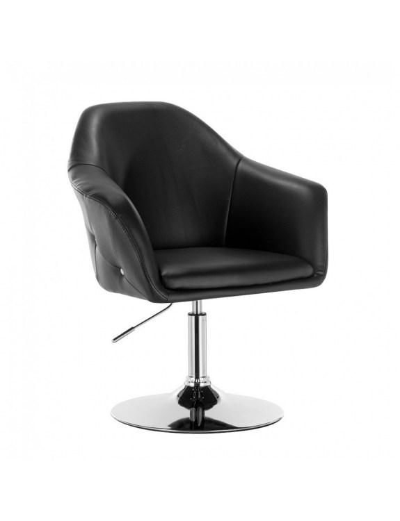 Blink Zet - Fotel fryzjerski   czarny