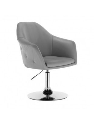 Blink Zet - Fotel fryzjerski szary