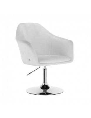 Blink Zet - Fotel fryzjerski biały