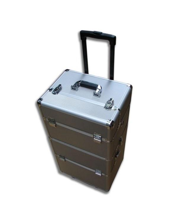Kufer aluminiowy MAX -srebrny