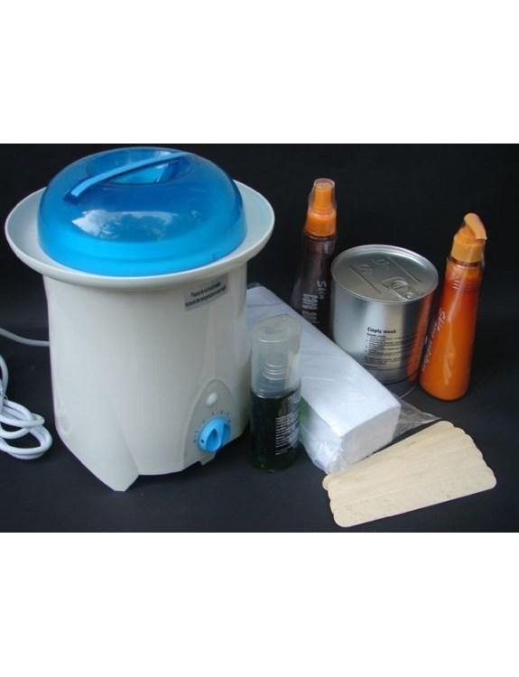 Podgrzewacz wosku w puszkach 800ml-zestaw