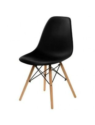 Krzesło Simplet P016W basic czarne Outle t