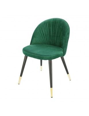 Krzesło Kotte Velvet zielone