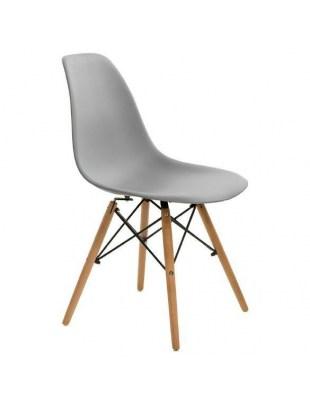 Krzesło Simplet P016W basic szare Outlet