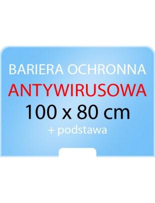 OSŁONA OCHRONNA przed wirusami, bariera na ladę, biurko - szyba plexi (ścianka)