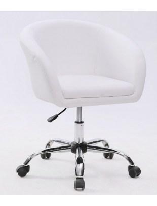 BART- Fotel fryzjerski biały