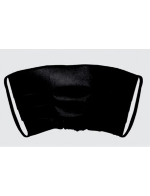 Maseczka jednorazowa, ochronna maska na twarz PLISA czarna 1szt