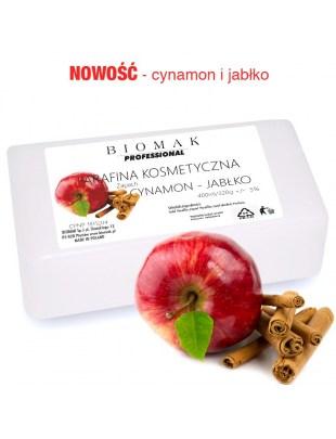 Parafina kosm. / zapach cynamon - jabłko