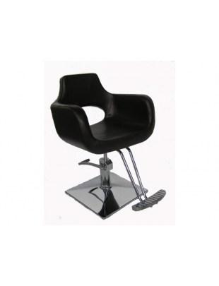 Ravenna - Fotel fryzjerski - czarny