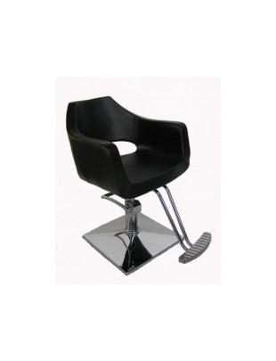 Fotel fryzjerski Salerno - czarny