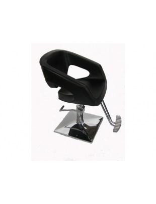 Fotel fryzjerski Catania - czarny