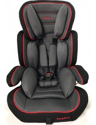 Fotelik samochodowy COMFORT RED 9-36 kg