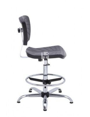 PLASTPUR krzesło GEMINI Special ChL Black
