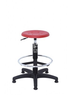 ERGOWORK taboret POLO Special BL Red