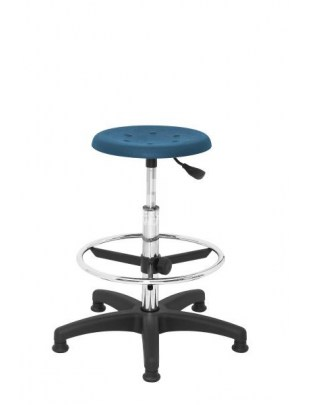 ERGOWORK taboret POLO Special CH Blue