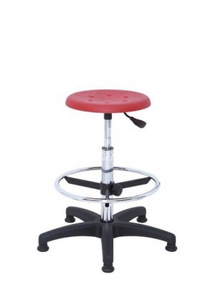 ERGOWORK taboret POLO Special CH Red