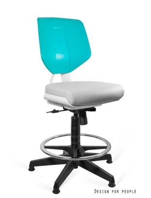 KADEN - krzesło specjalistyczne GREY/GREEN