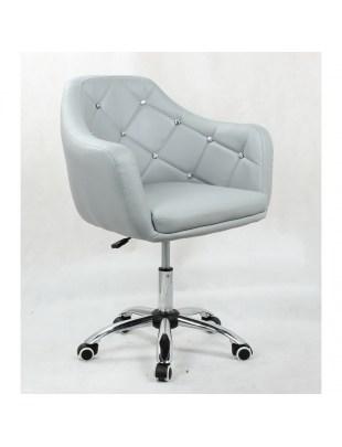 Fotel kosmetyczny HC830 SZARY