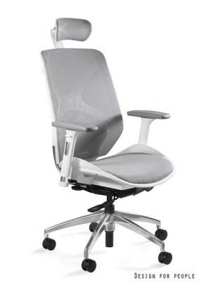 HERO - Fotel biurowy biały siatka