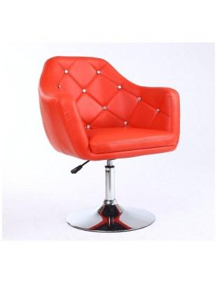 Fotel kosmetyczny HC830 CZERWONY