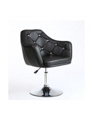 Fotel fryzjerski blink CZARNY
