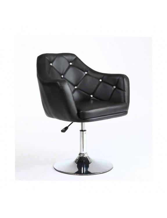 Fotel kosmetyczny HC830 CZARNY