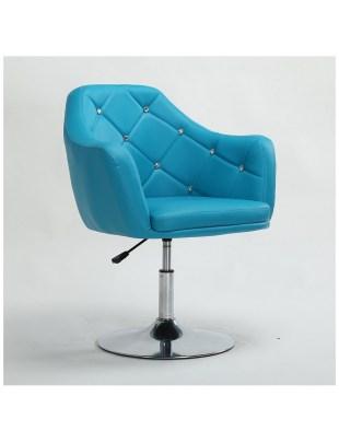 Blink - Fotel fryzjerski Turkusowy