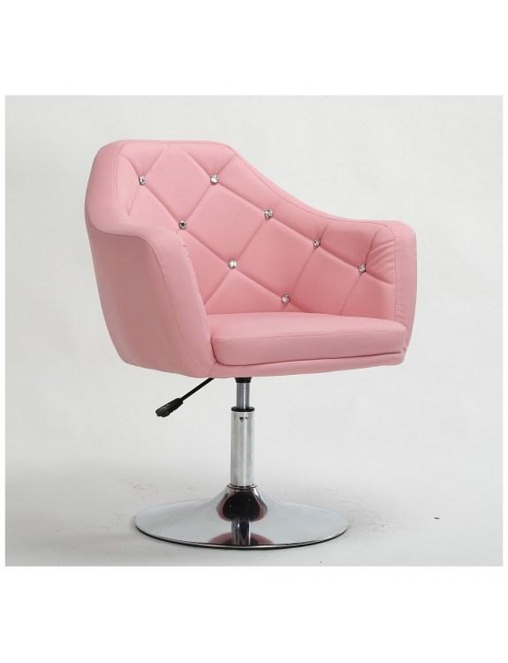 Fotel kosmetyczny Blink Różowy