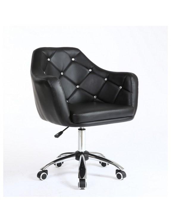 Fotel kosmetyczny HC830K CZARNY