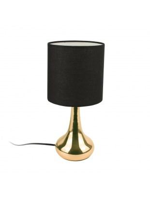Lampka stołowa Perle złota/ czarna