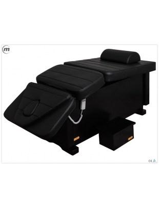 PRESTIGE - BLACK - leżanka z elektryczną regulacją wysokości