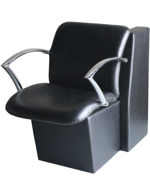 Fotel fryzjerski 1765 Napoli - czarny