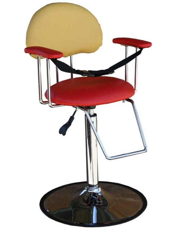 Fotel dziecięcy 1300 - czerwono-żółty