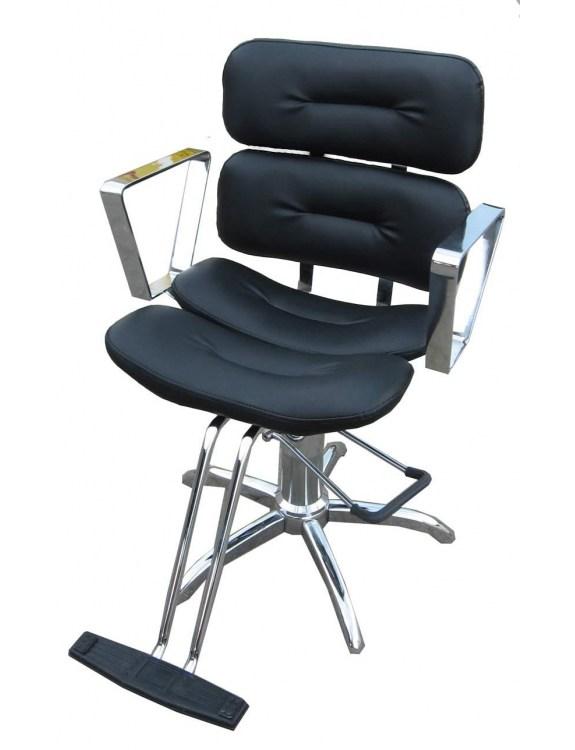 Fotel fryzjerski 1151 Ambra - czarny