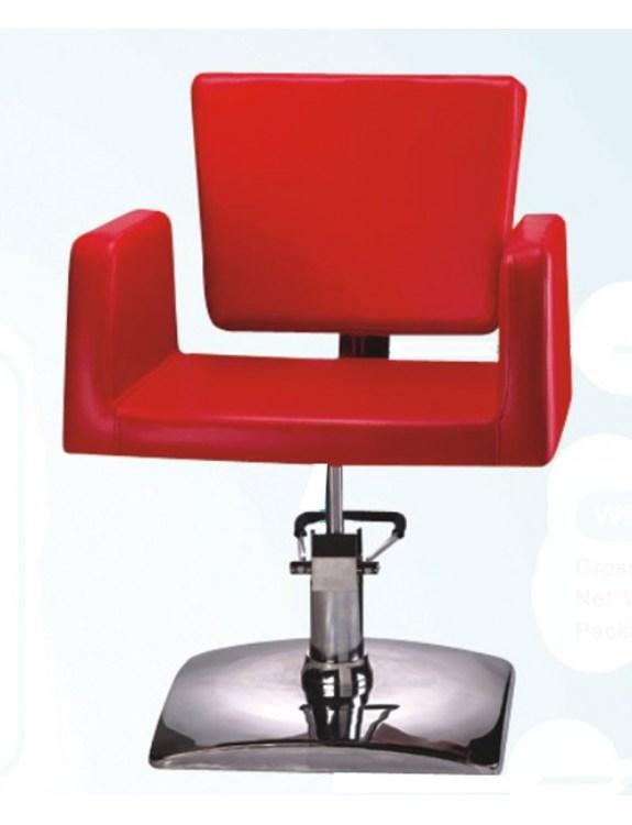 Fotel fryzjerski 1164 Genova - czerwony