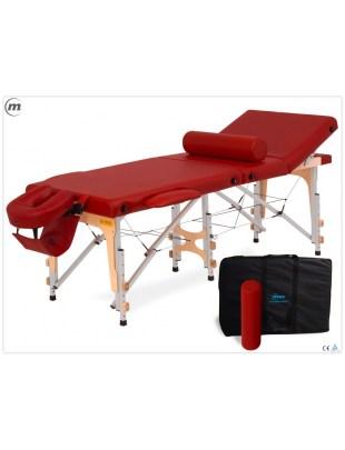 REFLEX ULTRA ALU - składany stół do masażu z panelem regulowanym