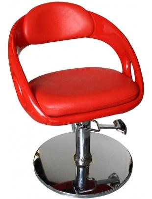 Avellino 1753 - Fotel fryzjerski - czerwony