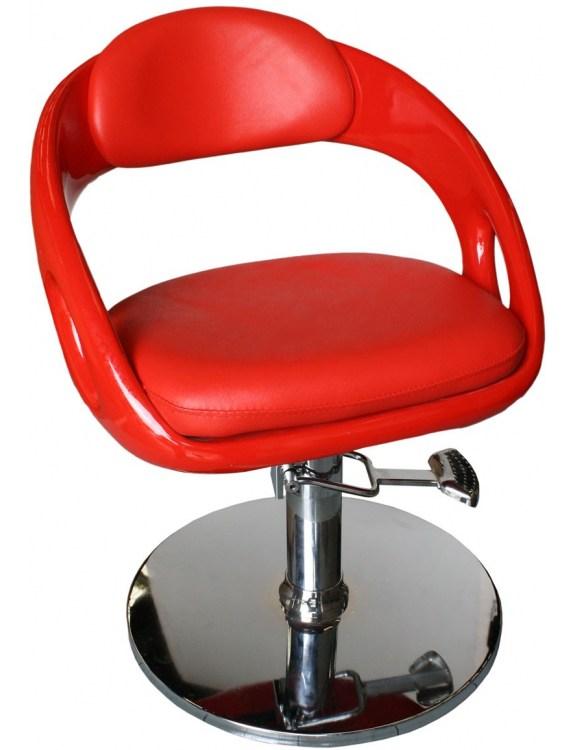 Fotel fryzjerski Avellino 1753 - czerwony