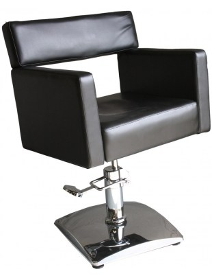 Fotel fryzjerski Grado 1375 - czarny