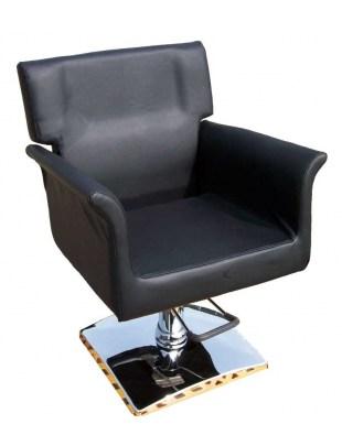 Fotel fryzjerski Latina 1171 - czarny