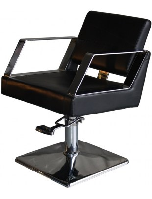 Fotel fryzjerski Andria 1755 - czarny