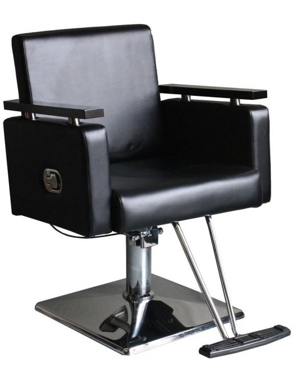 Fotel fryzjerski Pesaro 1759 - czarny