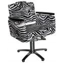 Siena - 1874 Fotel fryzjerski - zebra